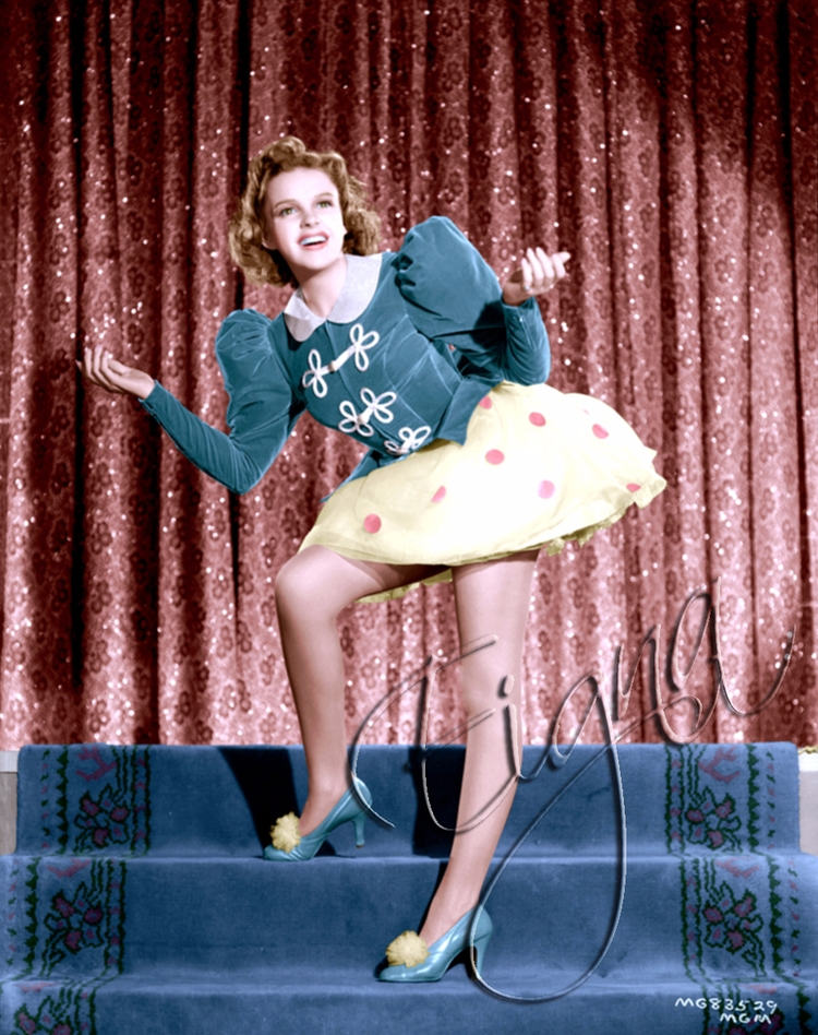 Judy Garland Ziegfeld Girl (194 - colormesixwaystosunday   ello