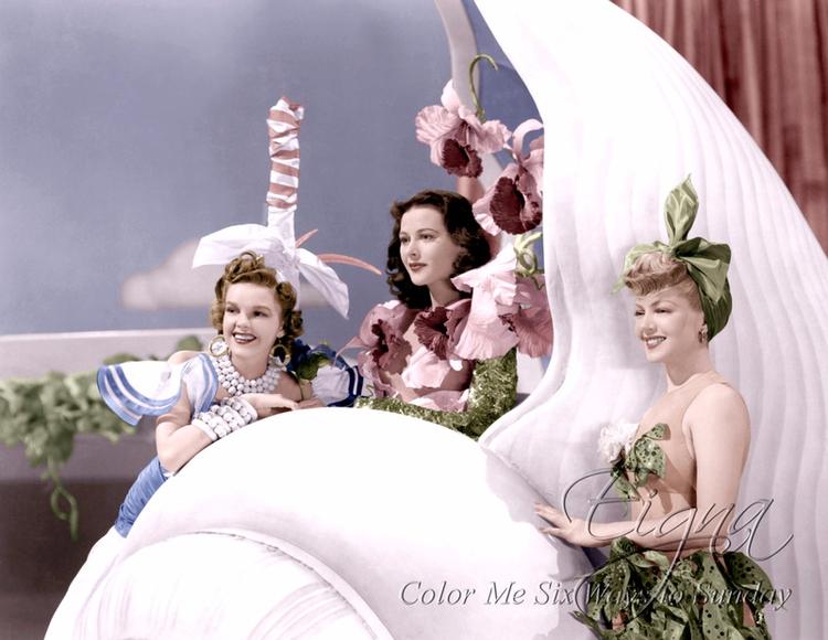 Ziegfeld Girl (1941) Judy Garla - colormesixwaystosunday | ello