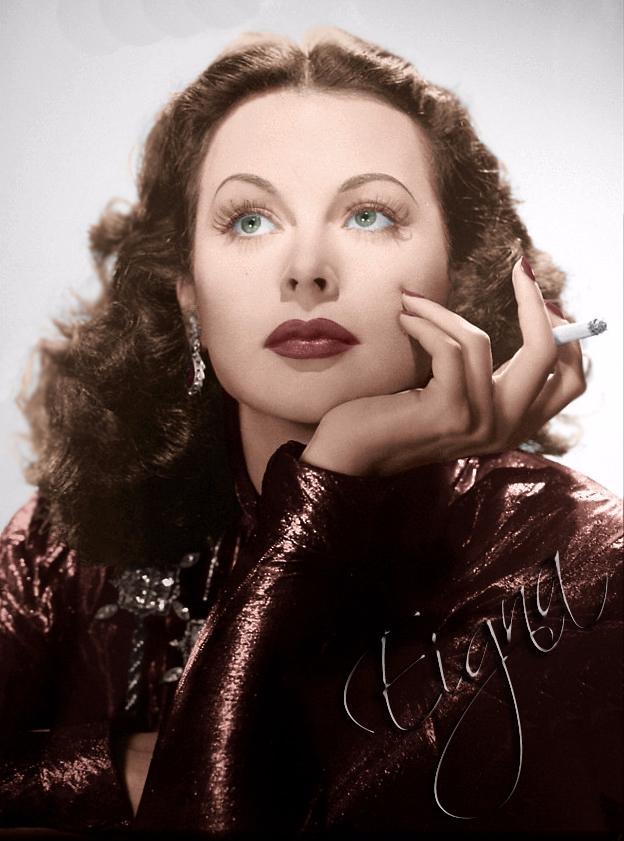 Hedy Lamarr - colormesixwaystosunday | ello