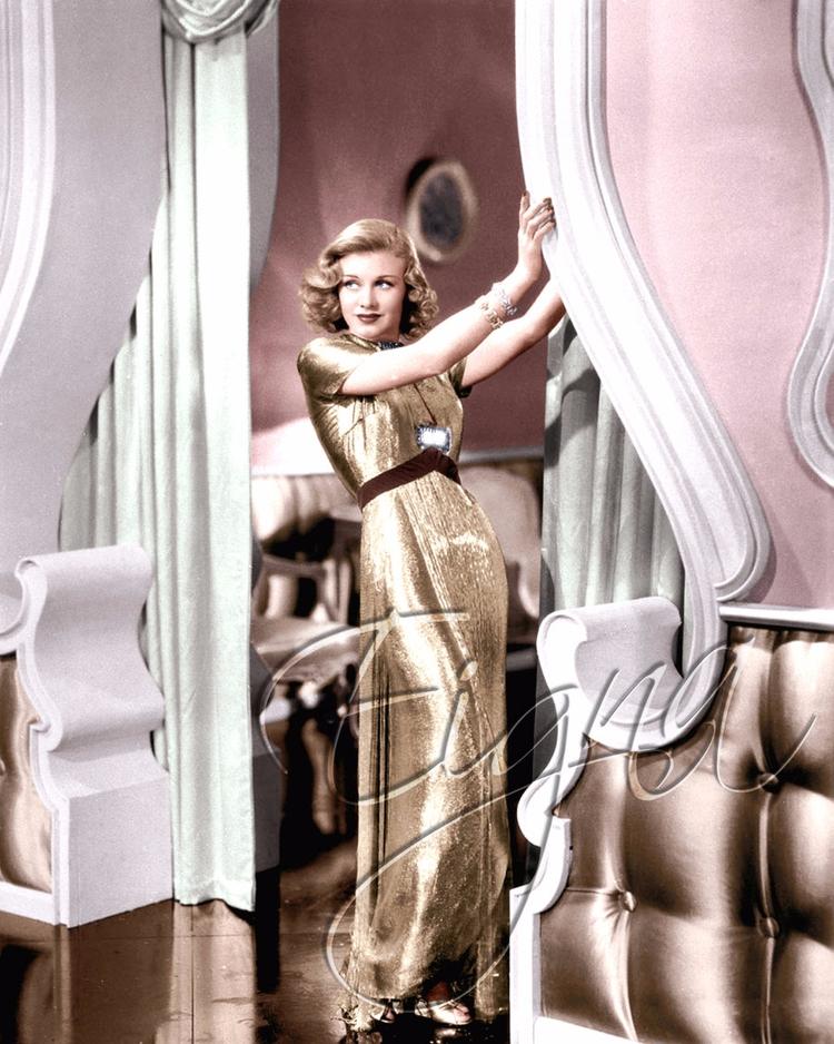 Ginger Rogers Dance (1937 - colormesixwaystosunday   ello