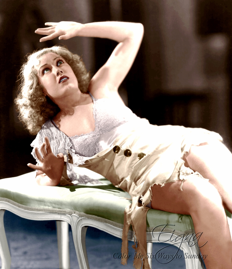 Fay Wray King Kong (1933 - colormesixwaystosunday | ello
