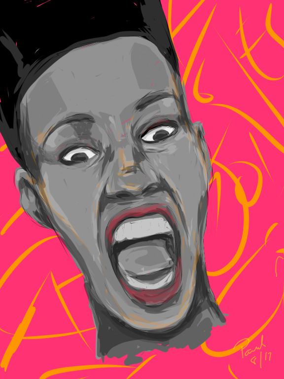 Grace Jones drawing - ipad, artist - dcartist | ello