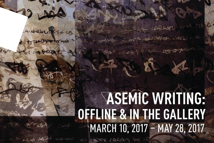 Asemic Writing: Offline Gallery - asemicwriter | ello