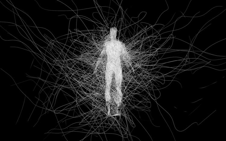 Entangled II Man creature emoti - z3rogravity | ello