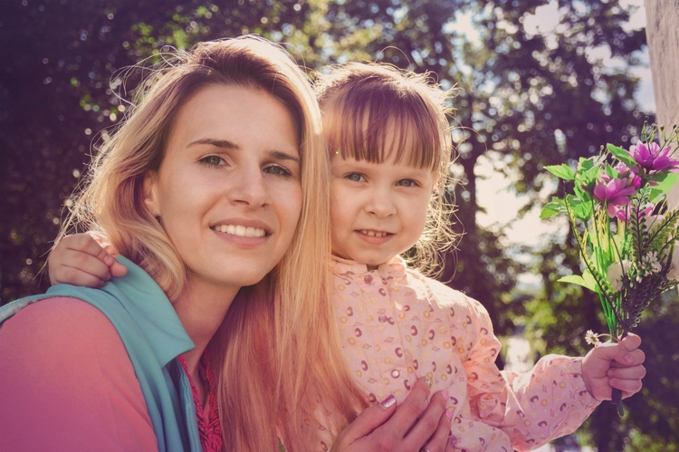 Cute mommy daughter - family, people - kristelleart | ello