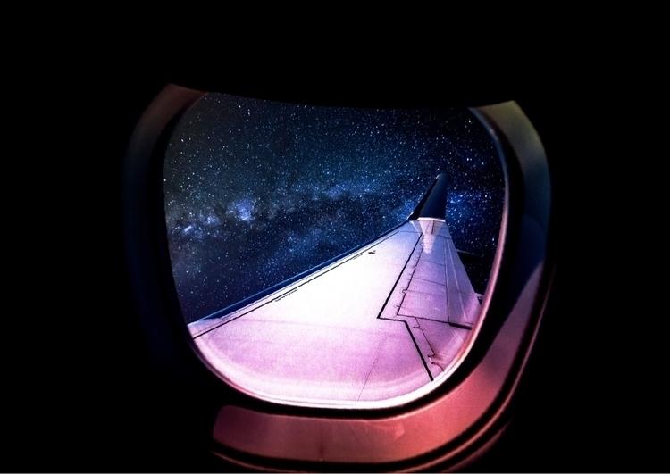 Space Travel  - Collage, Art, DigitalArt - darlingdesign   ello