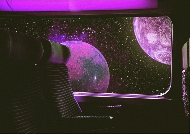 Space Travel  - Collage, Art, DigitalArt - darlingdesign | ello
