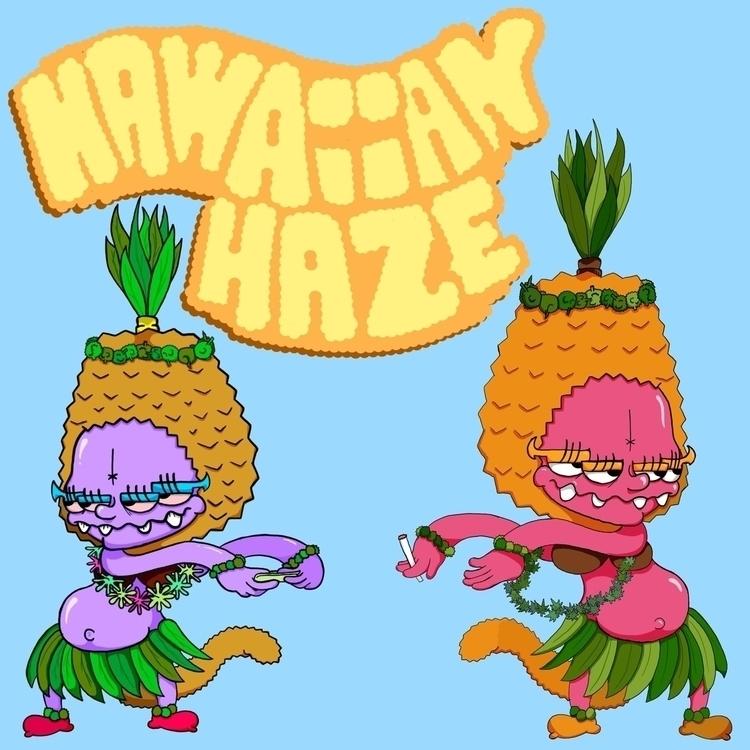 Neverbud Illustraintions! Hawai - thatredkid | ello