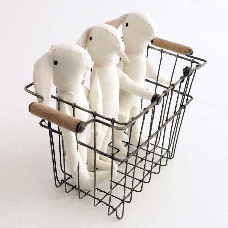 bunnies!! Handmade, 100% Cotton - severinakids | ello