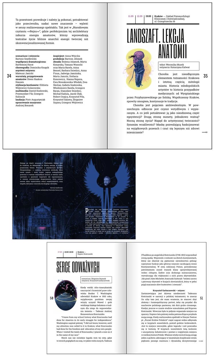 programme book Genius Loci Fest - victorsoma | ello