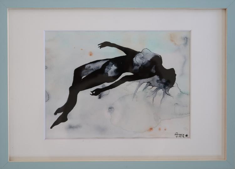 Falling aquarelle 15 x20 - 3, art - alexandre13 | ello