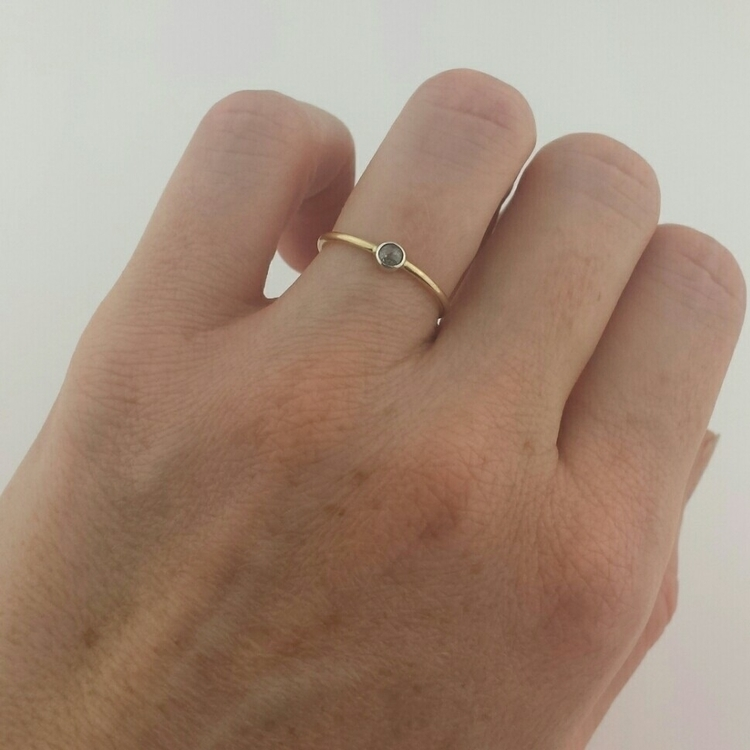 Playing ring styles - 14k band - arisdesigns | ello