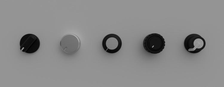 Knobs - music, instrument, minimalist - kevinloustau | ello