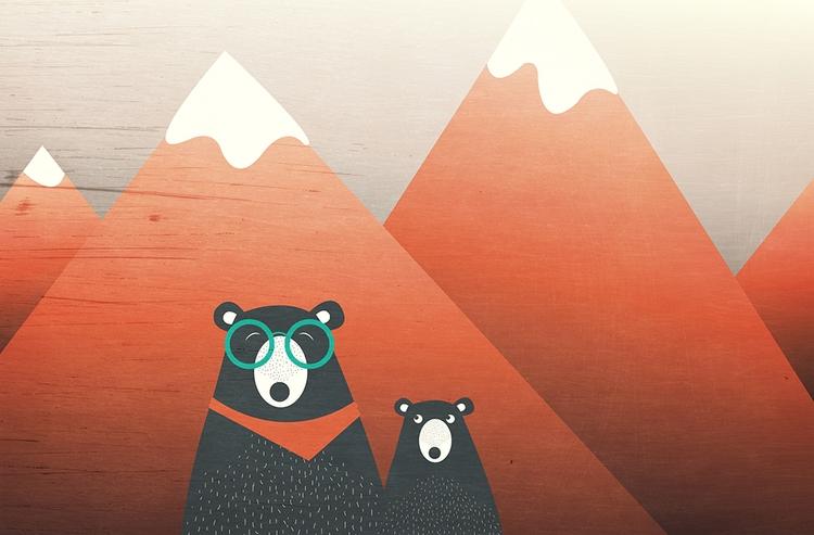 Silly Bear :copyright:2017 Femk - femkemuntz | ello