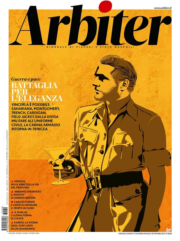 Cover magazine Arbiter, Sept. 2 - canuivan | ello