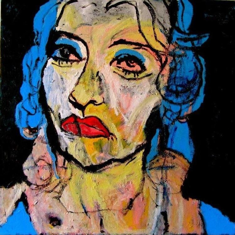 Baby Jane 36x36in - wayneello1 | ello