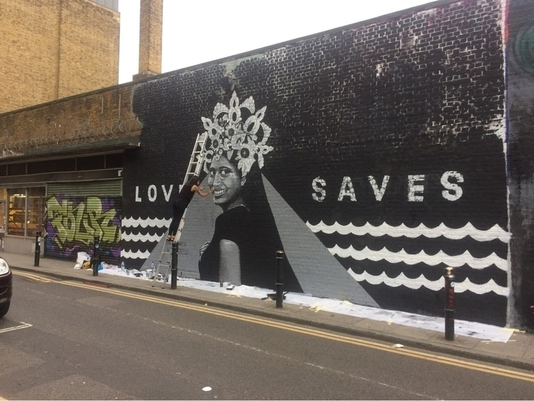 'Love Saves' - poignant message - domen2323 | ello