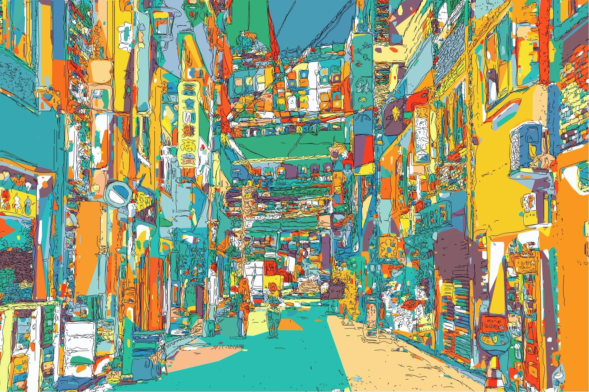 created based photographs, proc - yuyatakeda   ello