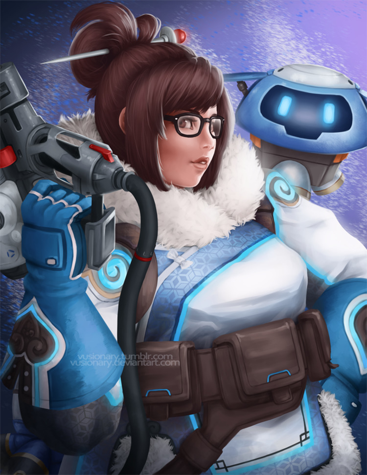 Mei Overwatch! quickly. proud - fanart - vusionary | ello