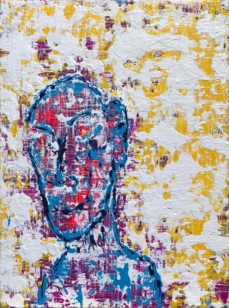 "grateful 9""x12"" acrylic canvas  - nuisms | ello"