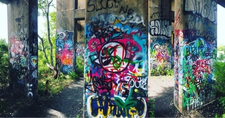 Graffiti Pier, Philadelphia - unitedstates - joshuadomeika | ello