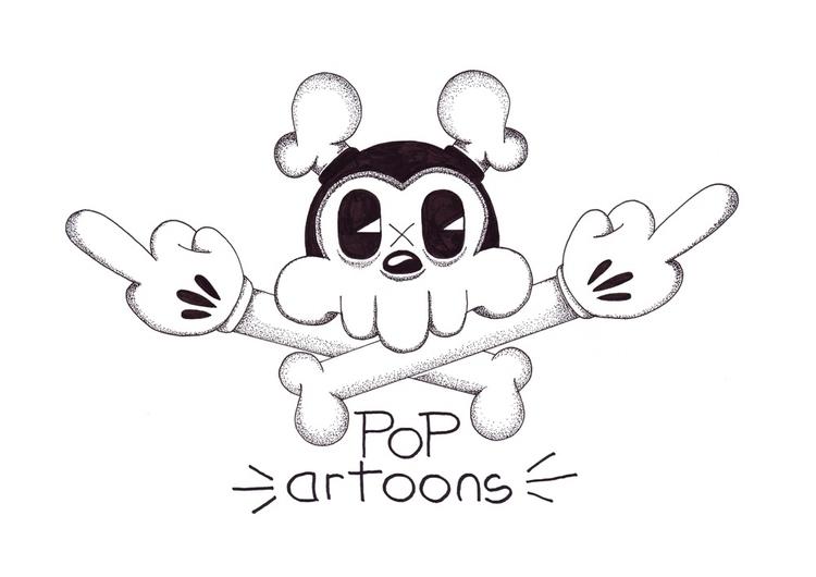 Popartoons drawing  - cartoons, popartoons - theodoru   ello