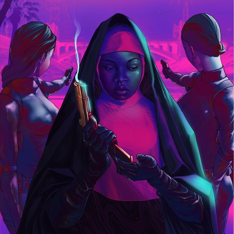 Sisters Sorrow. Artwork Jamaica - fabimo | ello