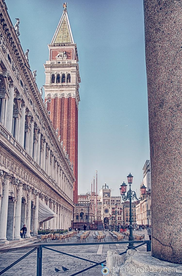 Photopoésie de la Piazza San Ma - rkebbi | ello