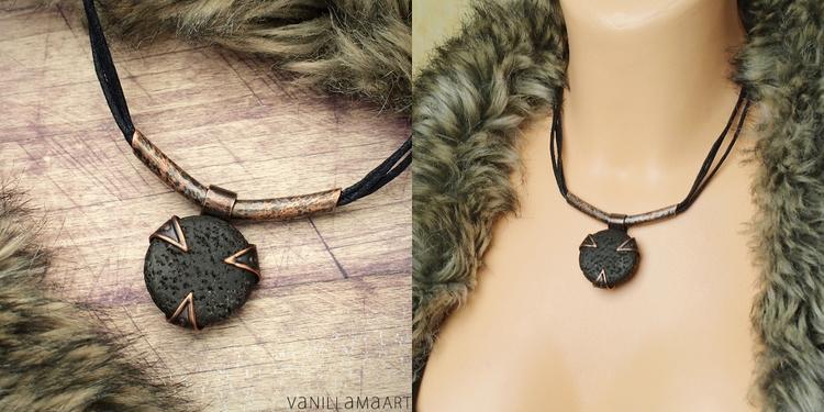 Copper, Lava, Jewelry, handmadejewelry - dorotavl | ello