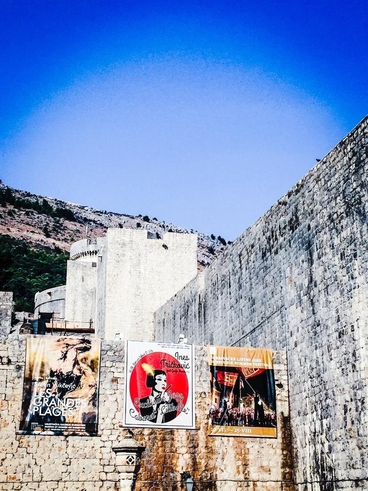 fortress - Dubrovnik, summer, travel - sacrecour   ello