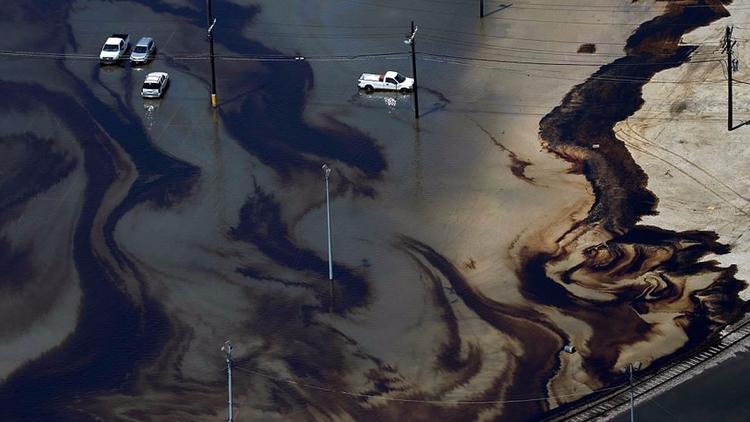 Huracán Harvey desbordó pozos t - codigooculto | ello