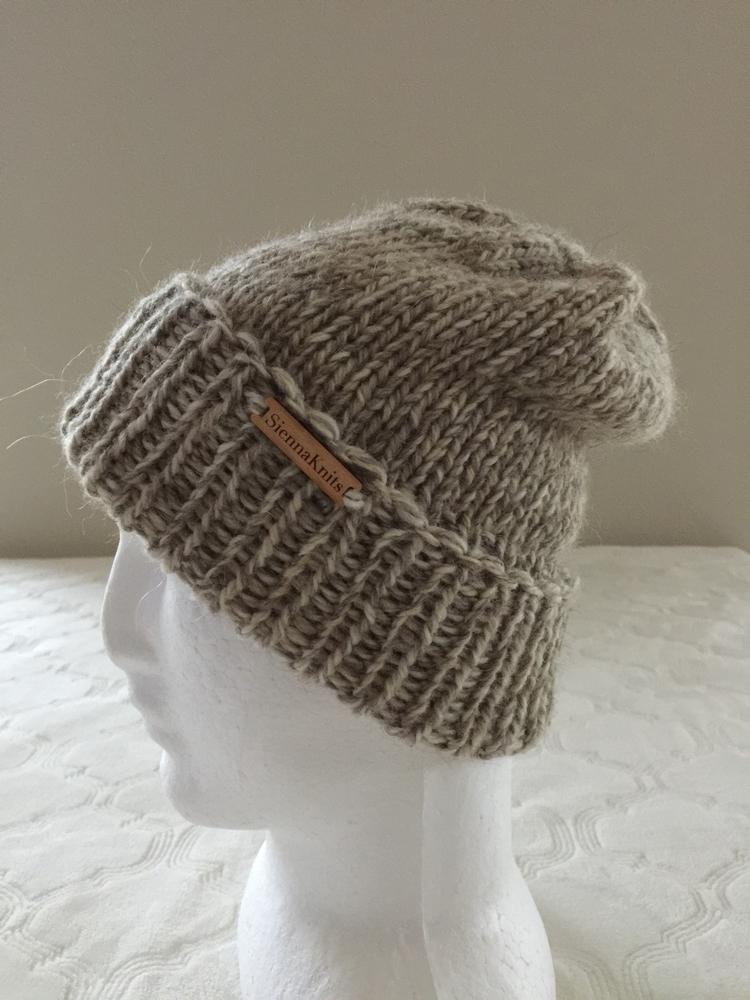 Alpaca wool knit beanie Etsy Sh - siennaknits | ello