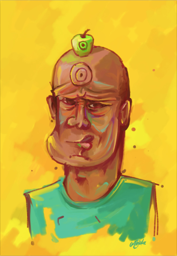BUllsEYE - ello, yellow, painting - steeze_abiola | ello