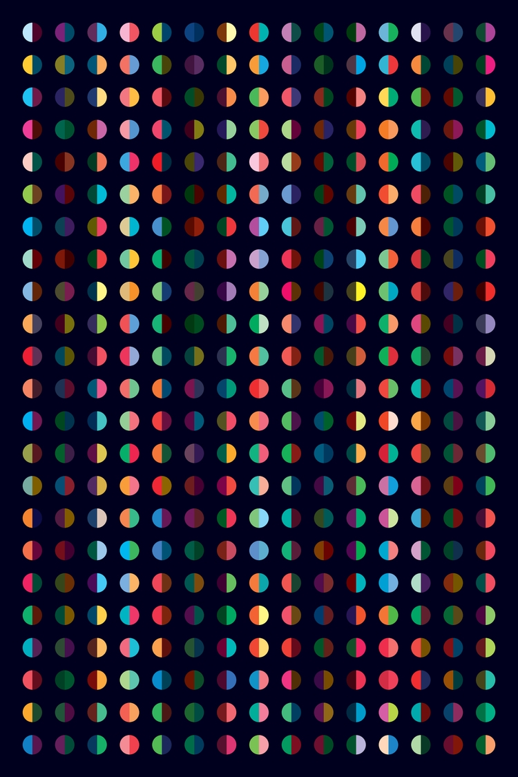 Dots – Light saturated colours  - arjeneshuis | ello