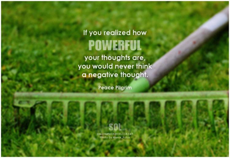 realized powerful thoughts nega - symphonyoflove   ello