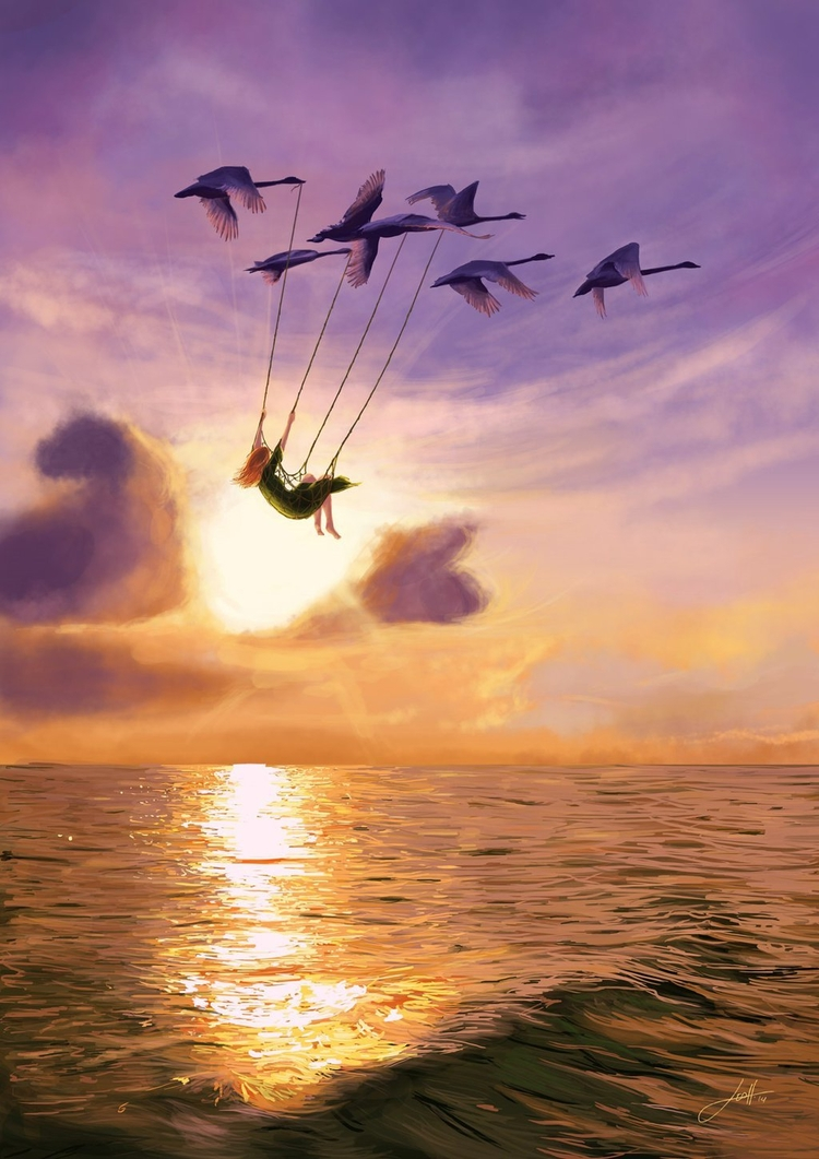 Tempest - Wild Swans' tale scen - leoalves | ello