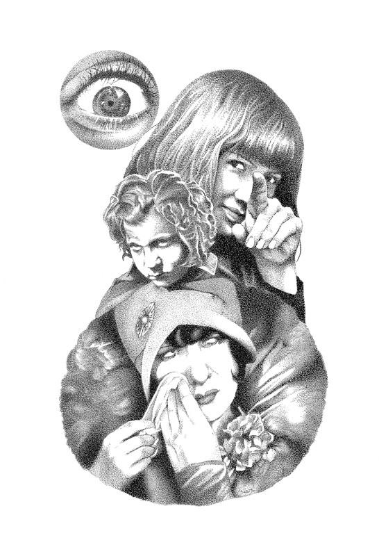 Vision Forgiveness - collage, pen - renzorazzetto | ello
