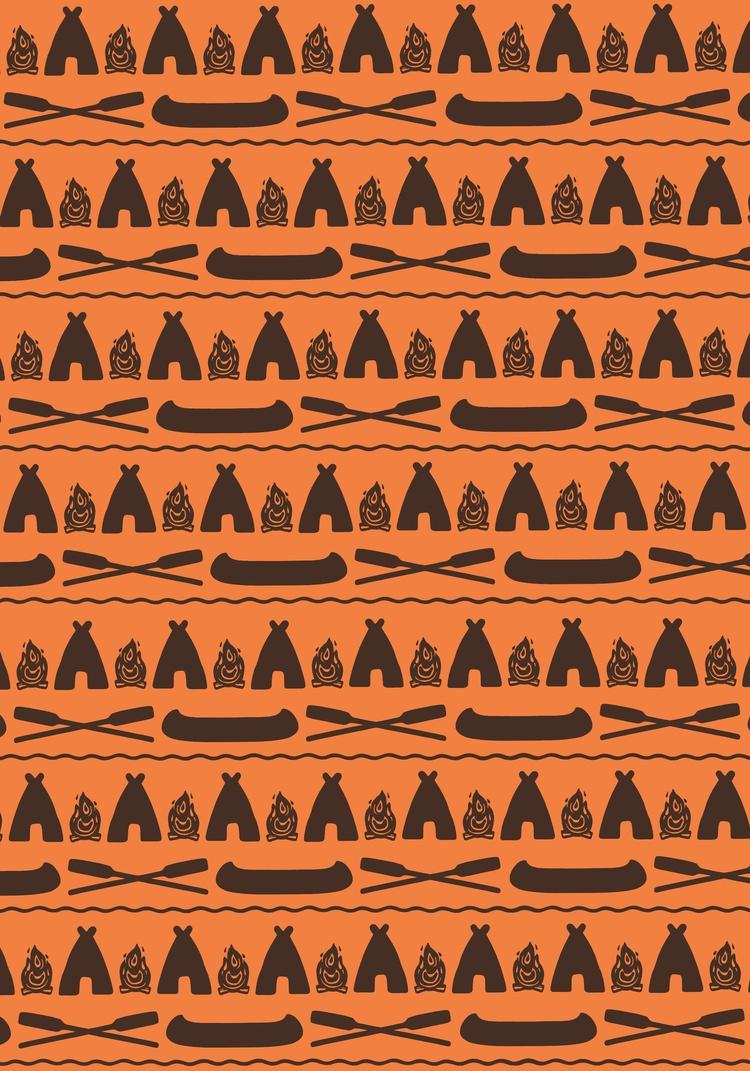illustration, adventure, pattern - angchor   ello
