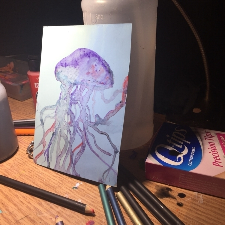 Watercolor jelly - alienmermaid | ello