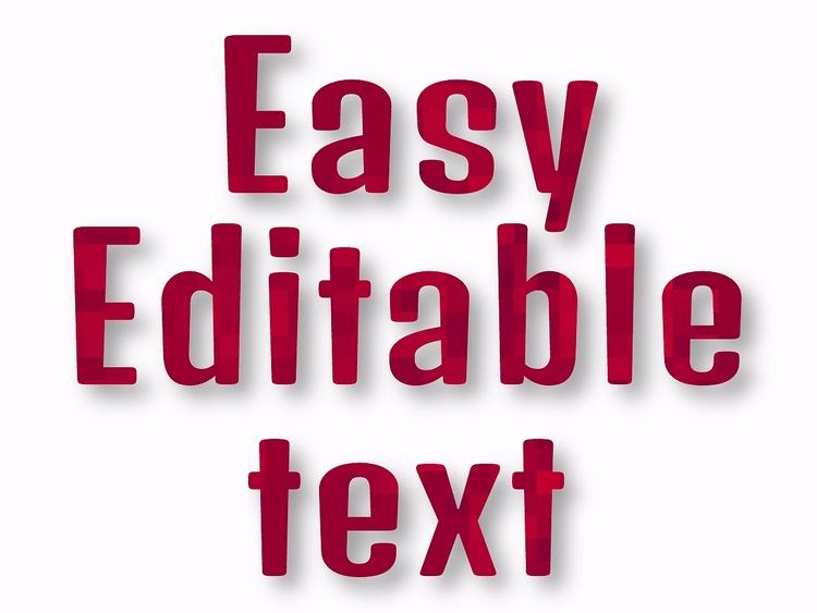 Text Template ( Editable Gravit - artlikesyou | ello