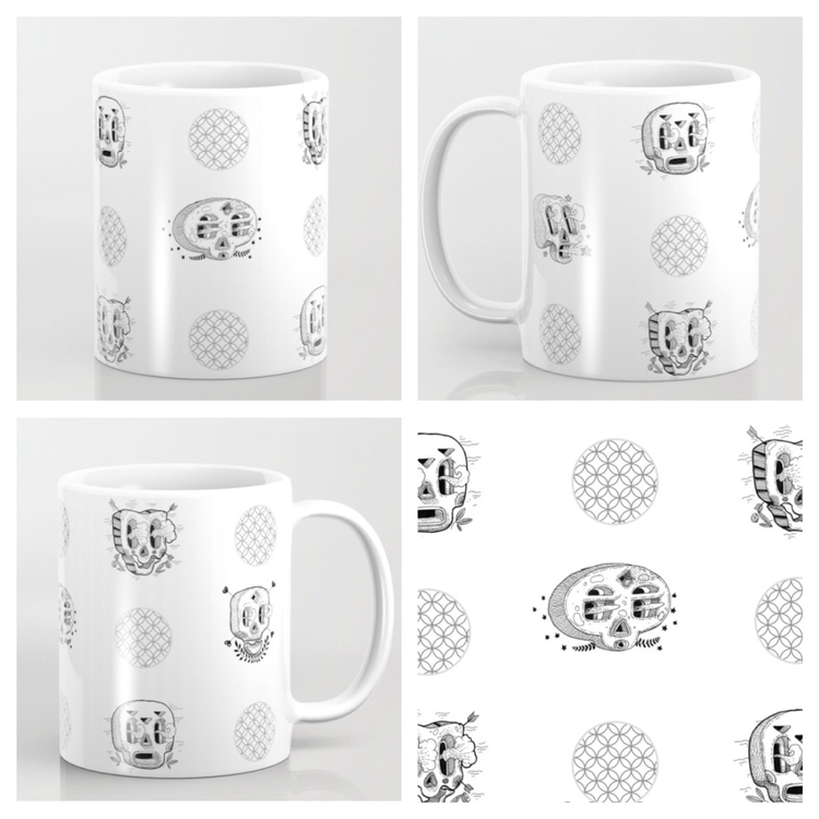 Morning coffee mug - cup, cupcake - trinkl | ello