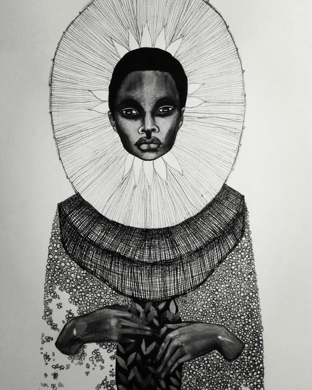 Brianna McCarthy Ink graphite p - blackartmatters | ello