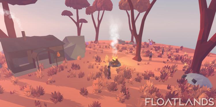 Preparing starter island upcomi - floatlands | ello