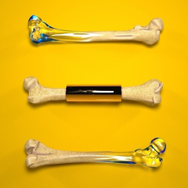Voodoo - Bones, Gold, Glass, Color - aaaronkaufman | ello