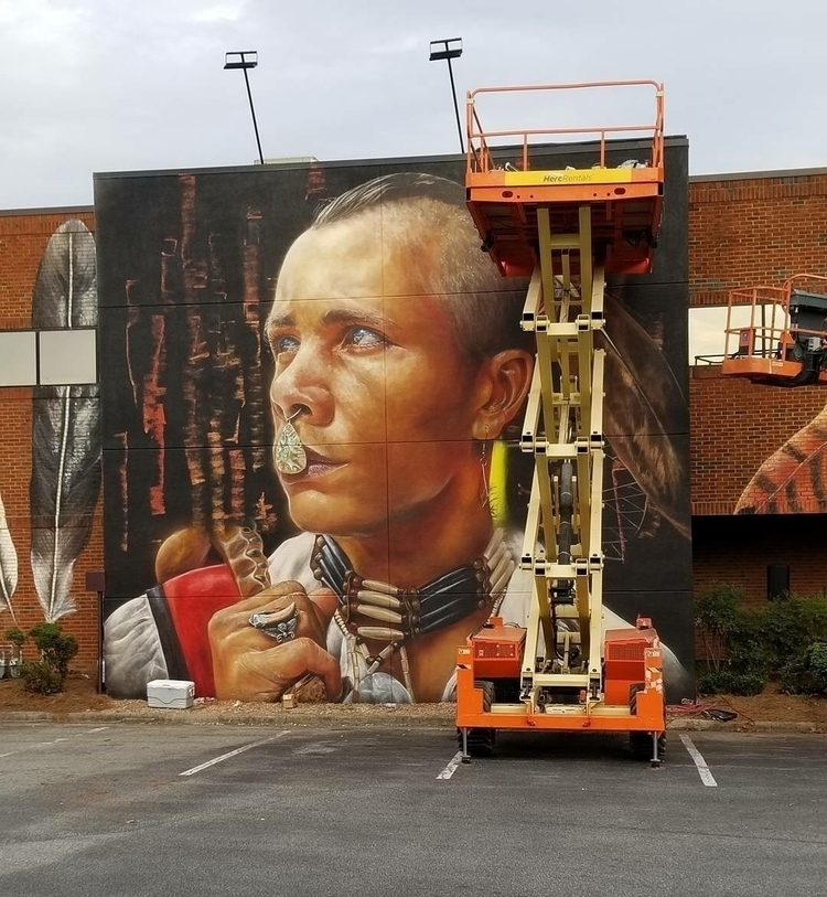 Matt Adnate Greensboro, NC Phot - streetartunitedstates | ello