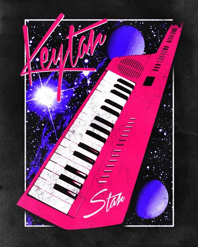 Keytar Star - sushilove | ello