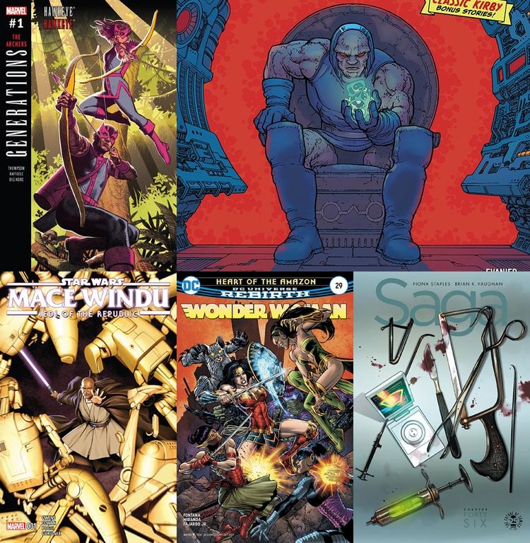 Rack Comics - 58 - comicbuzz | ello