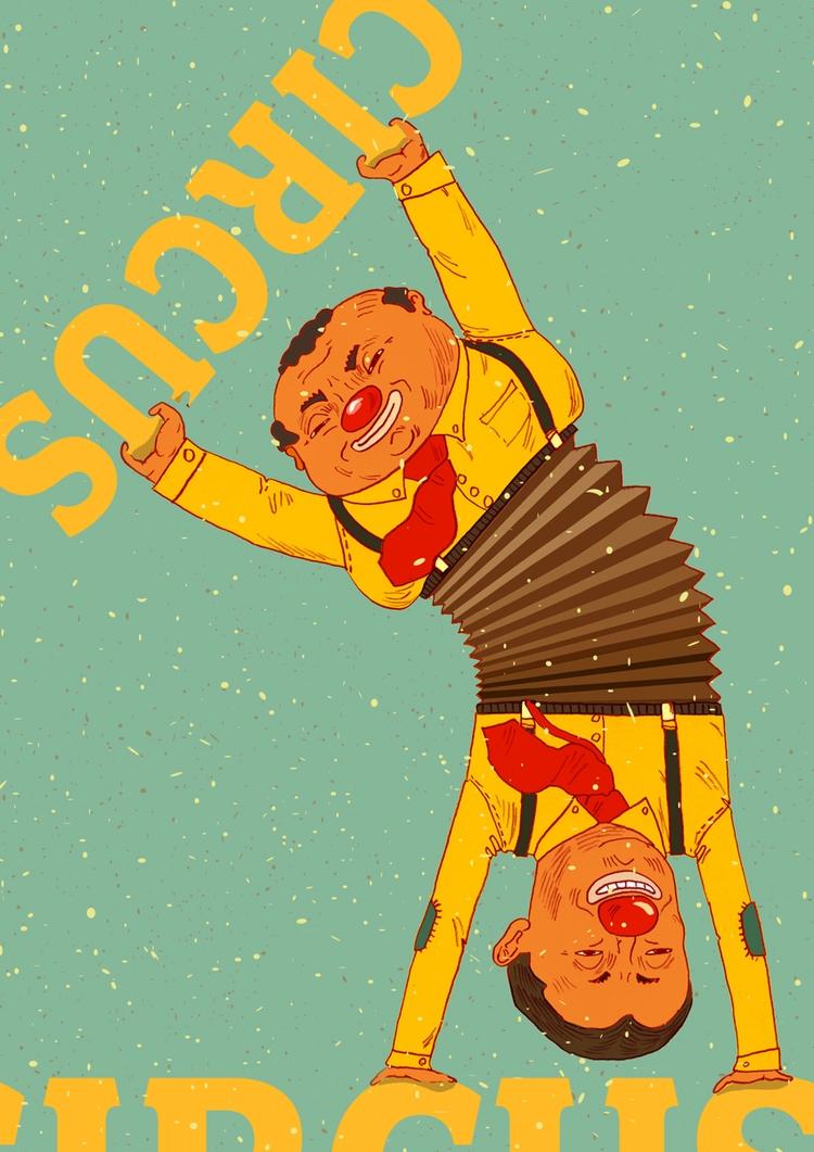 Circus poster - illustration, circus - zsoltvidak | ello
