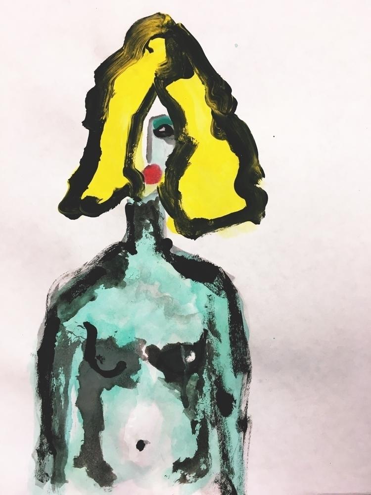 2017 - Kalamarz Watercolor Acry - jkalamarz | ello
