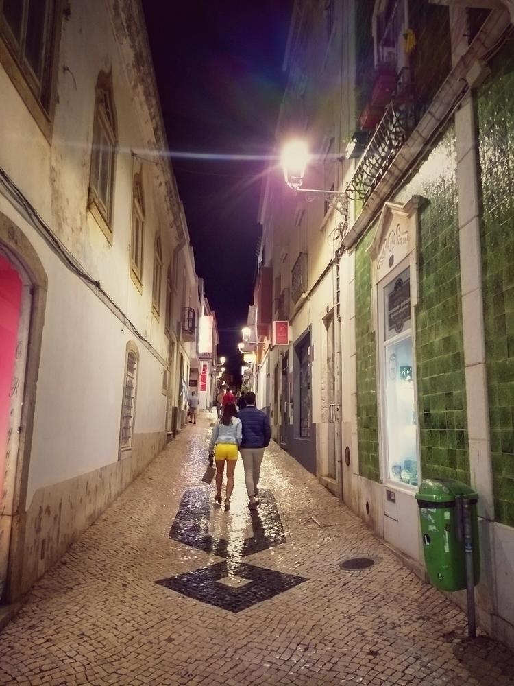 street, lights, evening, city - claudio_g_c | ello